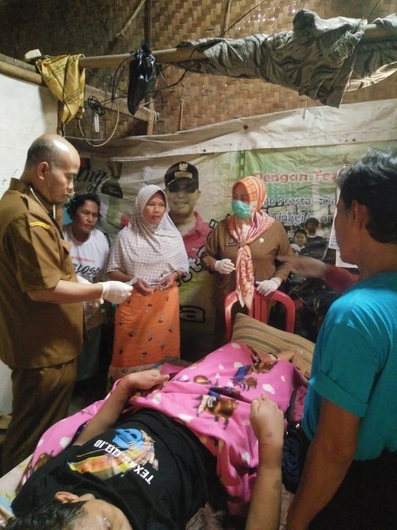 Pemeriksaan pasien ODGJ di Lontar